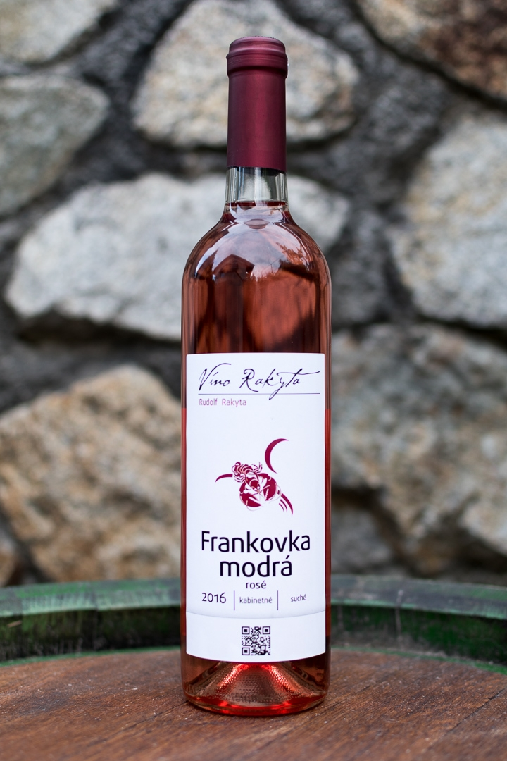 Frankovka modrá rosé 2016, 0,75 l